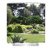 Mediterranean Garden - Cote D Azur Shower Curtain