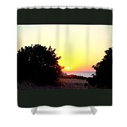 What You Sea From The Mediterranean View  Shower Curtain