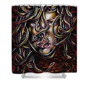 Medusa No. Three Shower Curtain