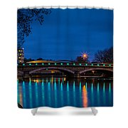 Medway Bridge Shower Curtain
