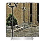Meet Me On The Steps Shower Curtain