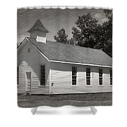 Meeting House Shower Curtain