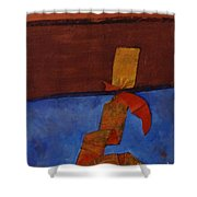 Meeting Point Shower Curtain