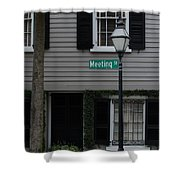 Meeting St Shower Curtain
