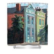 Meeting Street Charleston South Carolina Shower Curtain
