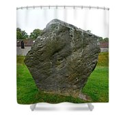 Megalith At Avebury Shower Curtain