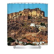 Mehrangarh Fort Shower Curtain