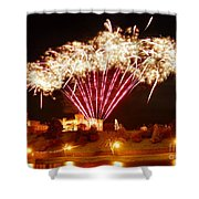 Melange De Soufre Shower Curtain