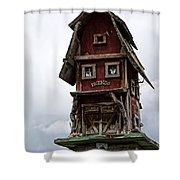 Melba Idaho's Birdhouse Shower Curtain