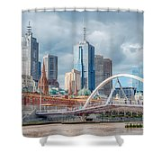 Melbourne Australia Shower Curtain