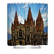 Melbourne Church Shower Curtain