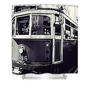 Old Tram In Melbourne Shower Curtain