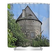 Melk Medieval Tower Shower Curtain