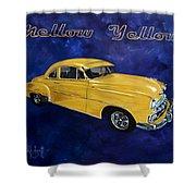 Mellow Yellow Shower Curtain
