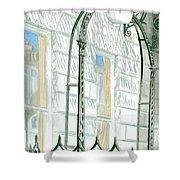Mellvile Street Doorway Shower Curtain