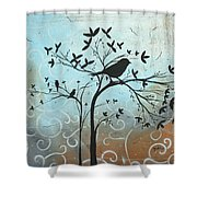 Melodic Dreams By Madart Shower Curtain