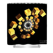 Melody And Harmony Shower Curtain
