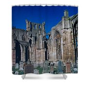 Melrose Abbey  Scotland Shower Curtain