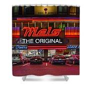 Mels Diner Shower Curtain