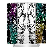 Melt 3rd Shower Curtain