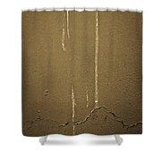 Melting Air Raw Shower Curtain