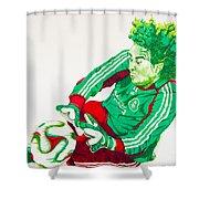 Memo Ochoa Drawing Shower Curtain