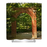 Memorial Arch Shower Curtain