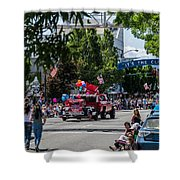 Memorial Day Parade In Grants Pass Shower Curtain