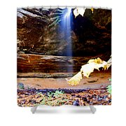 Memorial Falls IIi Shower Curtain