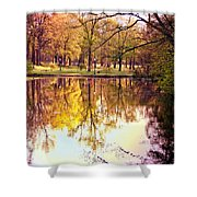 Memorial Park - Henry County Shower Curtain