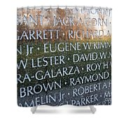 Memorialized Shower Curtain