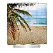 Memories Of A Gentle Wave Shower Curtain