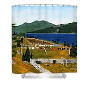 Memories Of Monday Shower Curtain