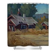 Memories Of The Past Shower Curtain