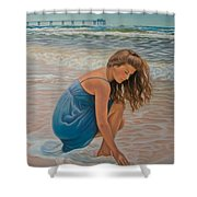 Memories Of The Sea Shower Curtain