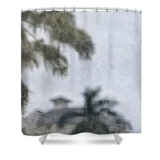 Memories Of The Tropics Shower Curtain