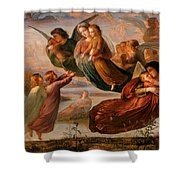 Memory Of Heaven Shower Curtain