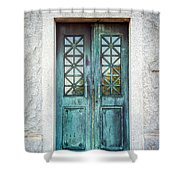 Memphis Elmwood Cemetery - Humes Crypt Shower Curtain