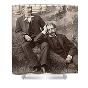 Men, 19th Century Shower Curtain