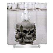 Menace Shower Curtain