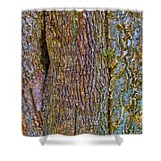 Menage A Tree Shower Curtain