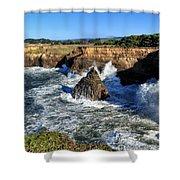 Mendocino Coast Shower Curtain