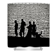 Mennonite Sunset Shower Curtain