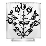Mennonites Hex Sign Shower Curtain