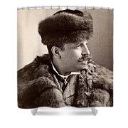 Men's Fashion, 1890s Shower Curtain