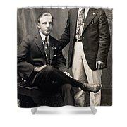 Men's Fashion, 1917 Shower Curtain