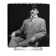 Men's Fashion, C1905 Shower Curtain