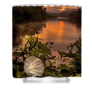 Meramec River At Chouteau Claim Shower Curtain