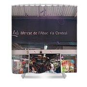 Mercat De L'abac Shower Curtain