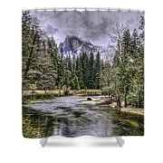 Ascending Clouds Shower Curtain